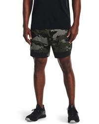 Under Armour Train Stretch Camo Sts Green