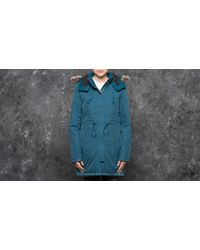 Footshop - The North Face W Zaneck Parka Prussian Blue - Lyst