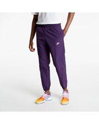 Nike NSW Heritage Windrunner + Lnd Woven Pants Purple - Lila