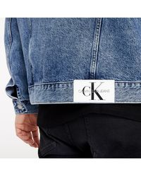 Calvin Klein Tommy Jeans Jacket Denim Dark - Bleu
