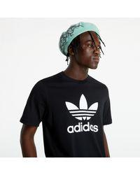 adidas Originals Adidas Trefoil T-Shirt Black/ White - Noir