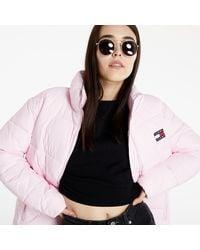 Tommy Hilfiger Modern Puffer Jacket Romantic Pink - Rose