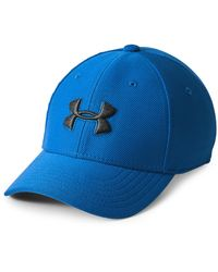 Under Armour Boy'S Blitzing 3.0 Cap Blue - Blau
