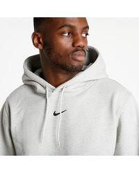 Nike X Drake Nocta Fleece Hoodie Grey Heather/ Black - Grau