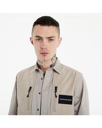 Calvin Klein Jacket String - Marron