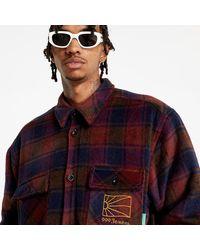 Rassvet (PACCBET) Sherpa Lined Shirt Woven Navy - Multicolore