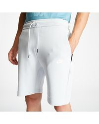 Nike Sportswear Tech Fleece Shorts Pure Platinum/ White - Grigio