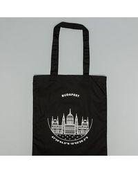 Footshop Budapest Tote Bag Black - Schwarz