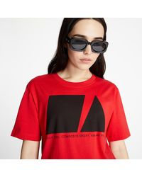 McQ Regular Tee Red - Rouge