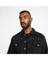 Pleasures Nevada Denim Engineer Jacket Black - Negro