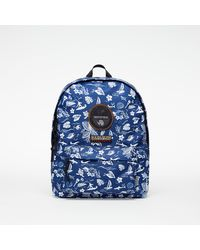 Napapijri Voyage S Print Backpack Hawaii AO - Bleu