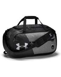 Under Armour Undeniable Duffel 4.0 Md Gray - Nero