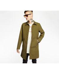A.P.C. - A. P. C. Doktor Coat Khaki - Lyst