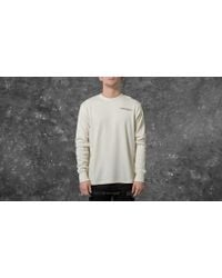 Footshop - Undefeated Thermal Crew Neck Off White - Lyst