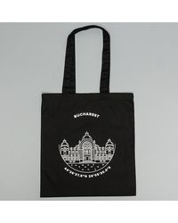 Footshop Bucharest Tote Bag Black - Schwarz