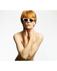 Retrosuperfuture X Footshop America Sunglasses White - Weiß