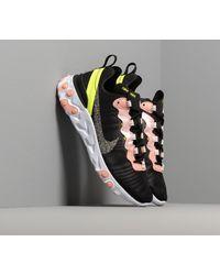 Nike Scarpa React Element 55 Premium - Nero