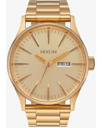 Nixon Sentry SS Watch All Gold - Giallo