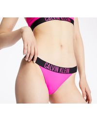 Calvin Klein Brazilian Swim Bikini Pink Glo - Rosa
