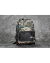 Stussy - Stock Backpack Woodland Camo - Lyst