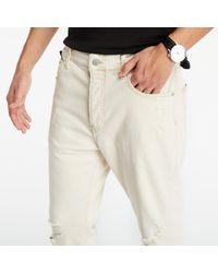 Calvin Klein Dad Jeans Denim Light - Natur