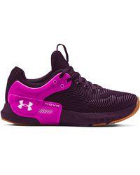 Under Armour W HOVR Apex 2 Gloss Purple - Violet