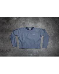 9bc724038da5 Lyst - Adidas Originals Quarter Zip Gold Pullover in Blue for Men