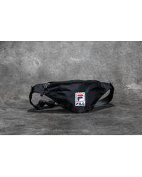 Fila - Waist Bag Black - Lyst
