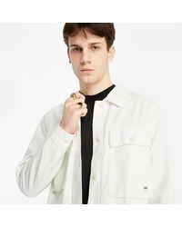 Vans Clark Jacket Marshmallow - Blanc