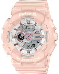 G-Shock Baby-G BA-110RG-4AER Watch Pink - Rosa
