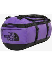 The North Face Base Camp Duffel - S Peak Purple/ Tnf Black - Morado
