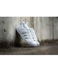 Lyst adidas Originals Adidas Superstar FTW blanco / Silver Metallic