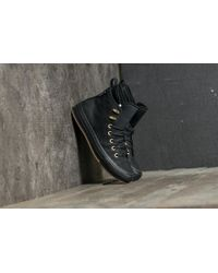 1b9194b17a3 Converse - Chuck Taylor All Star Wp Boot Hi Black  Black  Brass - Lyst