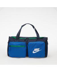 Nike Future Pro Kids' Duffel Bag Obsidian/ Game Royal/ White - Grau