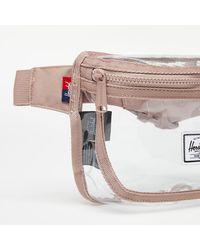 Herschel Supply Co. Fifteen Waistbag Ash Rose/ Clear - Pink