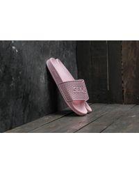 Footshop - Slydes Cali Basic Logo Powder Pink - Lyst
