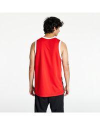 Nike Dri-FIT Basketball Jersey Black/ University Red/ White - Rot