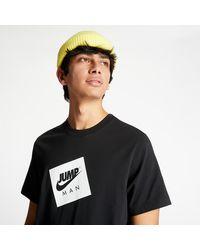 Nike Jumpman Box Tee Black/ White - Nero