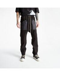 Rick Owens Cargo Drawstring Long Pants Black - Negro