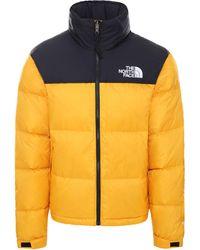 The North Face 1996 Retro Nuptse Jacket Summit Gold - Marron