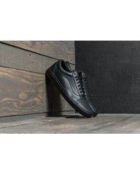 5da43d0870d6 Vans Old Skool Skate Shoes Embossed Sidewall Black - Image Of Shoes
