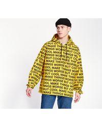 PUMA X RandomEvent AOP Windbreaker Jacket Yellow - Amarillo