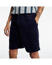 Huf Pennybridge Corduroy Shorts Navy Blazer - Blau