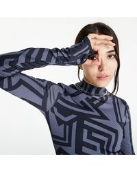 McQ In8 Dazzle Rollneck Night Waves - Gris