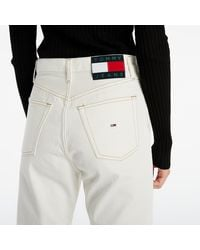 Tommy Hilfiger Harper High Rise Flare Ankle Jeans White - Weiß