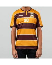 Hummel X Hanon HB Team Jersey Tee Orange/ Brown