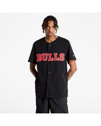 KTZ Nba Outdoor Utility Bb Jersey Chicago Bulls Black - Nero