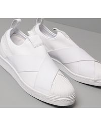 adidas Originals Adidas Superstar Slip On Ftw White/ Ftw White/ Ftw White - Weiß