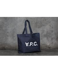 Footshop - A.p.c. V.p.c. Shopping Bag Indigo - Lyst