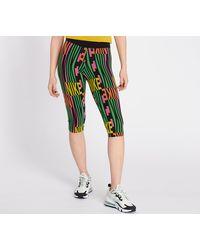 Nike Sportswear Peace Pack Capri Black/ Green Spark - Negro